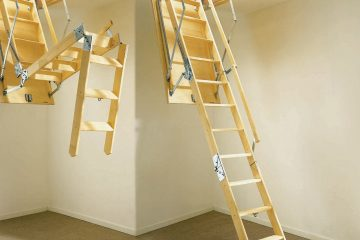 attic ladder supply and install