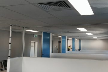 office partion walls perth