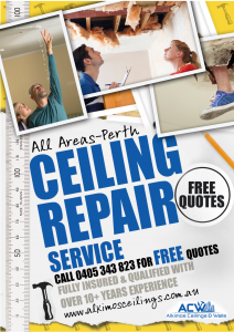 ceiling repair specialists